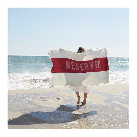 Sir/Madam Reserved Beach Towel
