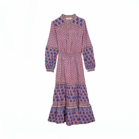 Sea NY Long Sleeve Bianca Dress Long Sleeve - Purple