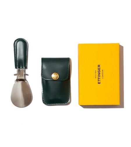 Ettinger Travel Shoe Horn - Green