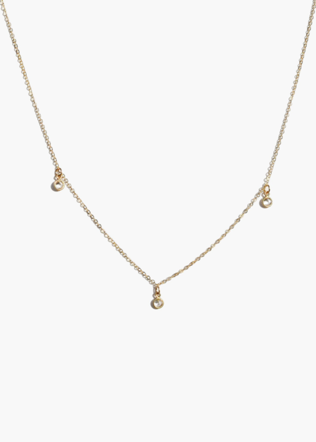 ABLE Triple stella drop necklace - 14K gold filled