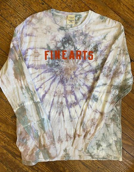UNISEX Megan Huntz Fine Arts Tie Dye T-shirts