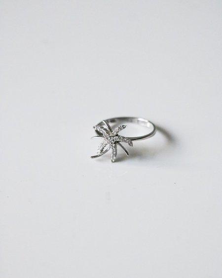 pre-loved Starburst Ring - Sterling Silver
