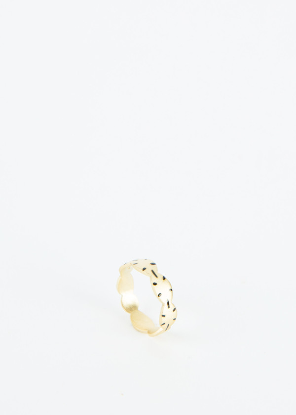 5 Octobre Free Scalloped Ring