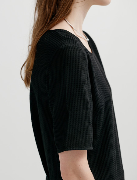 Norse Projects Womens Emilie Waffle Wool Dress