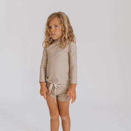 Kids Illoura Sol Rashie - Pale Khaki