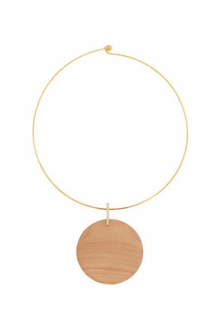 Sophie Monet Tuscan Moon Necklace