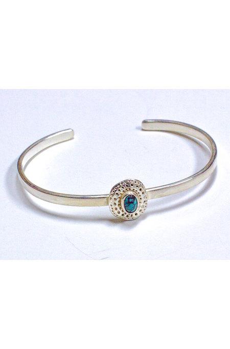 Bauxo Establish Bracelet with Turquoise - Silver