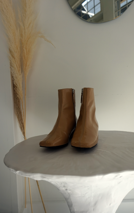 About Arianne Jules Boots - Wood