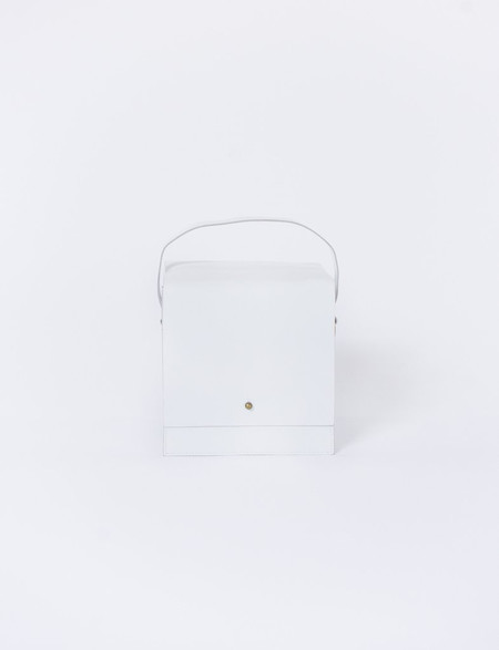 Creatures of Comfort Small Box Bag in White