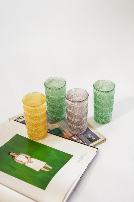 Pre-loved Leigh Collective Scribble Tumbler Set