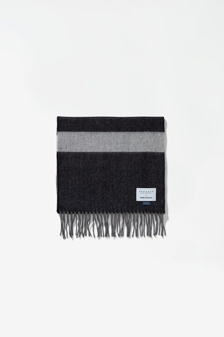 Norse x Begg & Co Scarf - Madder Brown