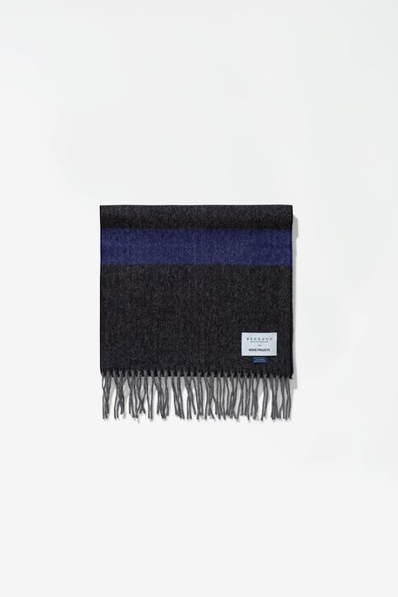 Norse Projects Norse X Begg & Co Scarf - Twilight Blue