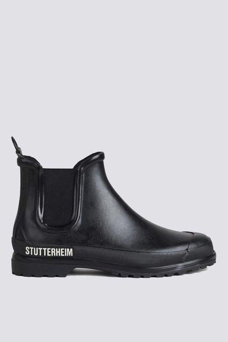 Stutterheim Chelsea Rainwalker Boots - Black/Black