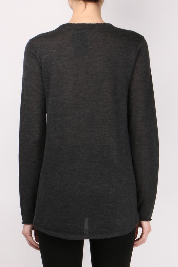 ATM L/S Deep V-Neck Pullover