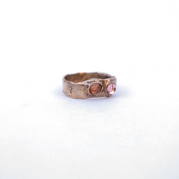Mondo Mondo Felt Ring - Lavender/Peach
