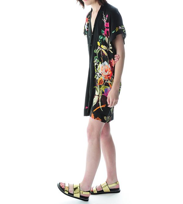 Mason By Michelle Mason Kimono Dress