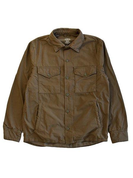 Save Khaki Fleece Lined Shirt Jacket - Barley