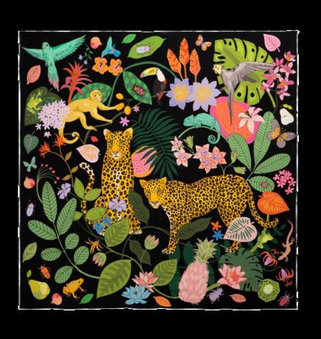 Karen Mabon Silk Scarf - Rainforest