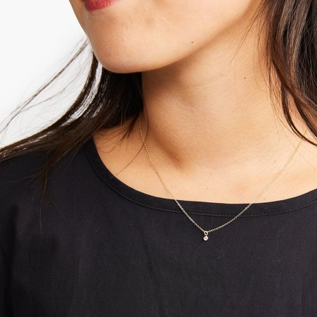 Able Stella Drop Necklace - Gold