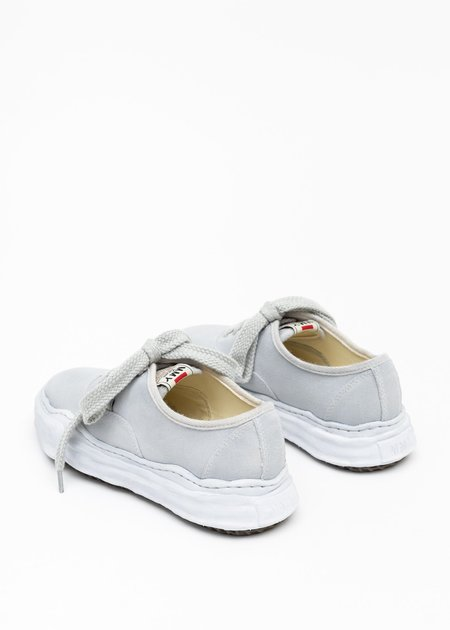 Mihara Yasuhiro Original Sole Overdyed Canvas Sneaker - Grey
