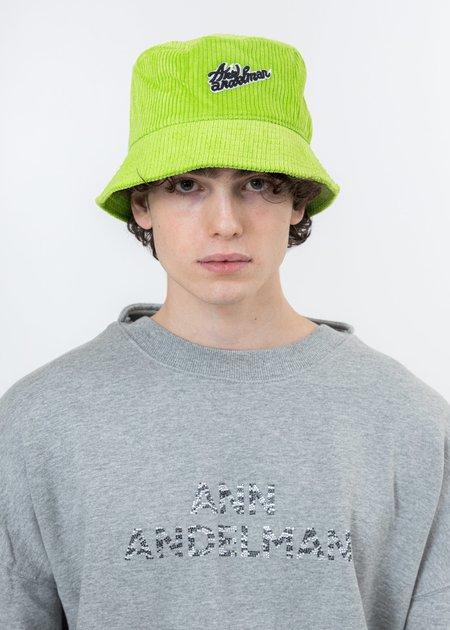 Ann Andelman Logo Bucket Hat - Green