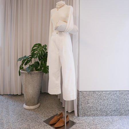 Studio Nicholson Greta Pant - Selvedge Denim Optic White