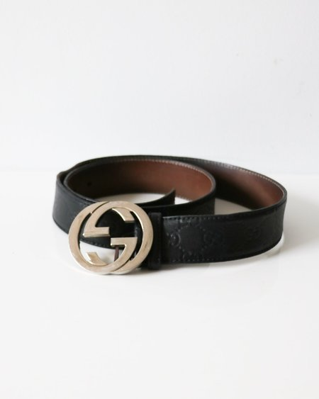 [Pre-loved] Gucci Interlocking GG Belt