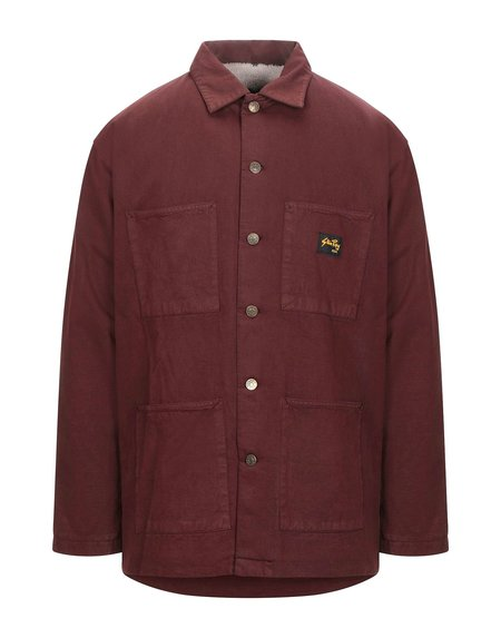 Stan Ray LINED SHOP JACKET - Coffee Brown