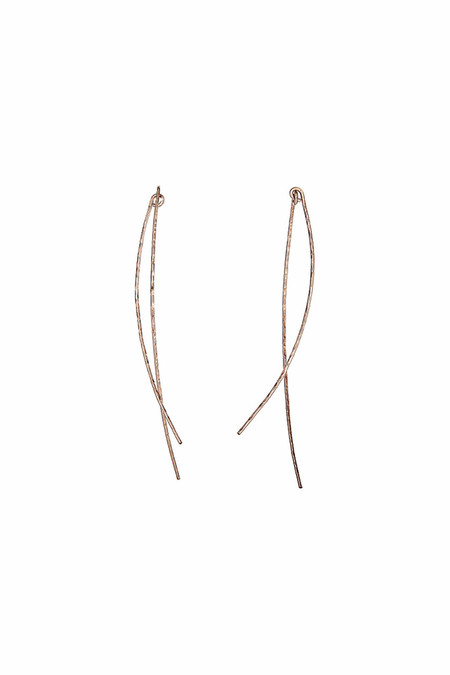Nettie Kent Jewelry August Earrings - Gold