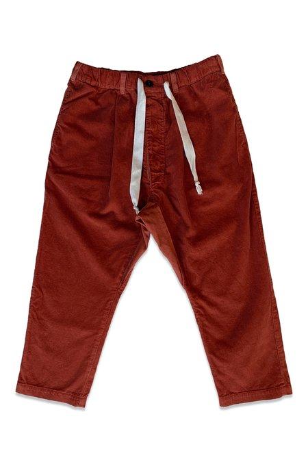 Seeker Corduroy Paddington Pant - Rust