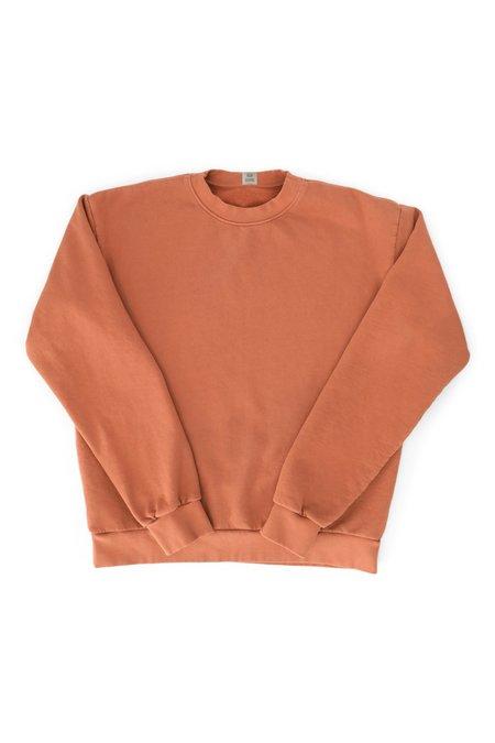 SEEKER Flag Crew Sweatshirt - Dark Amber
