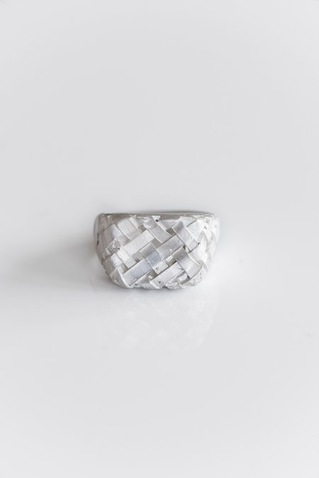 Fraser Hamilton Weaver Ring - Silver