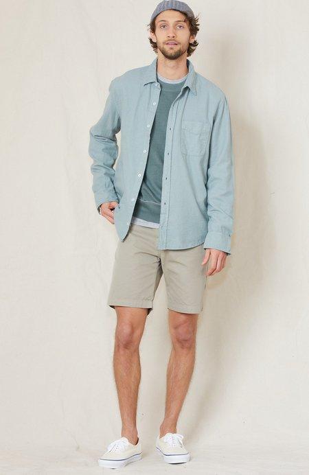 Save Khaki Flannel Standard Shirt