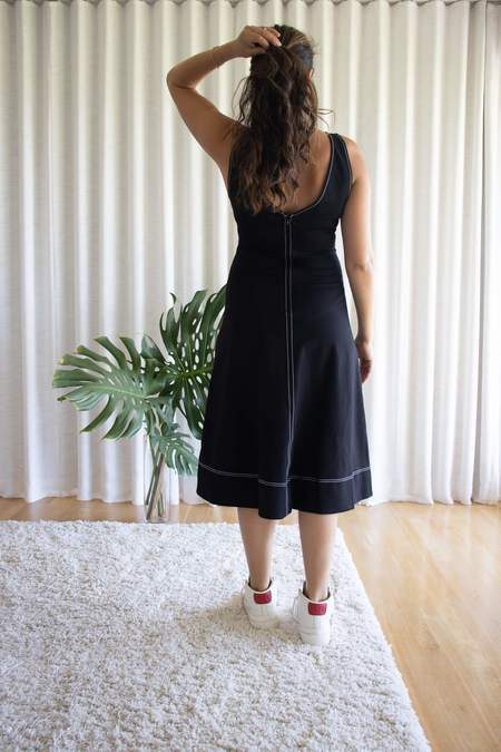Staud Dew Dress - Black