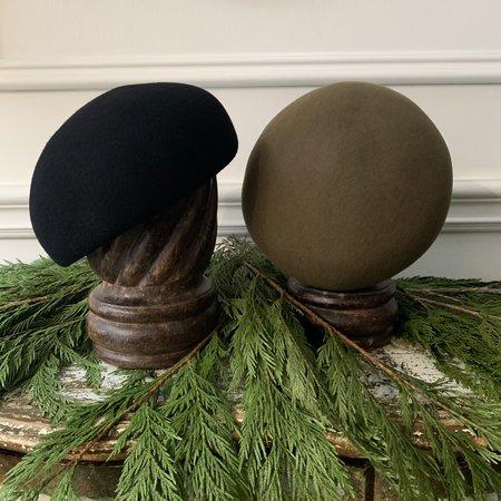MATURE HA Wood Block Hat - Moss Green