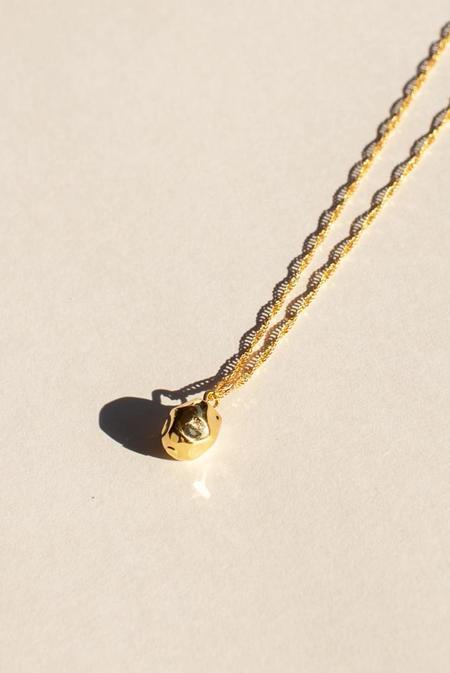 BRIE LEON Neeva Pendant necklace - Gold plated