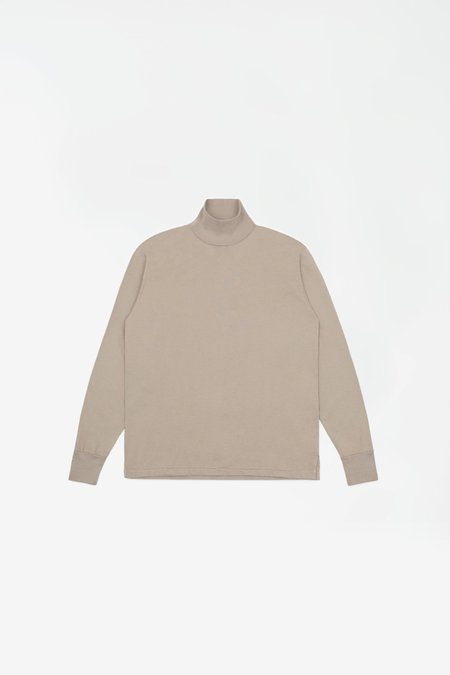 Lady White Co. Jersey turtleneck - taupe fog