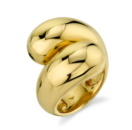 Gabriela Artigas Double Apse Ring - 14K Yellow Gold Plated