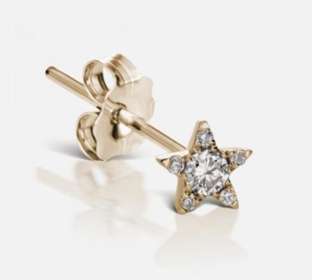Maria Tash 4.5mm Diamond Star Earstud