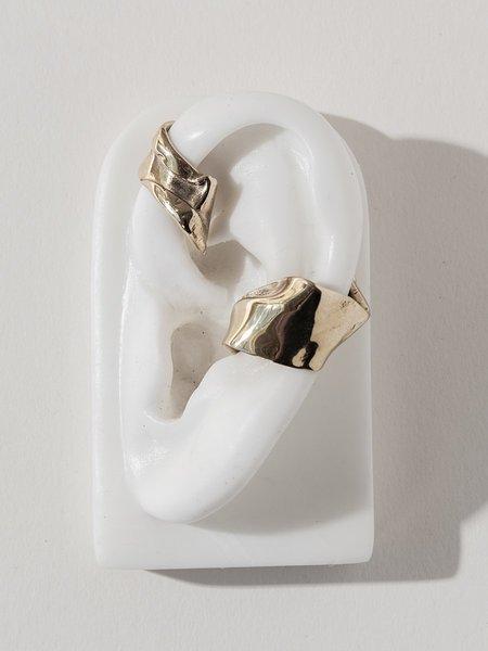 Faris Warp Ear Cuff - Sterling Silver