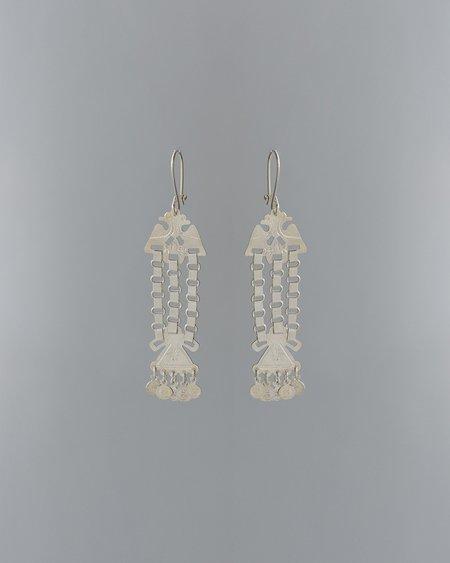 VOZ Pajaro Earrings - sterling silver