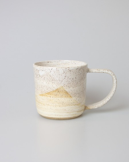 WILD BOWER STUDIO Toasted Marble Mug - CREAM