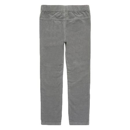 Kids Bonton Melvil Velour Leggings - Clay Grey