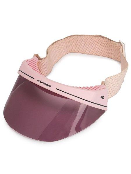 Courrèges Vintage Visor Cap - pink