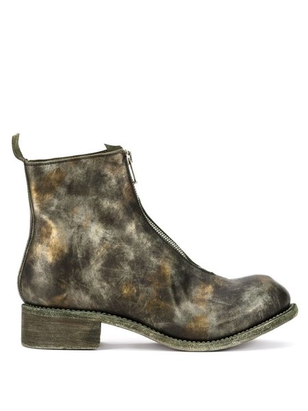 Guidi PL1 Soft Horse Front Zip Boots - Camo