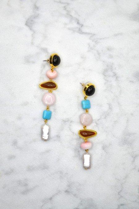 Lizzie Fortunato Heroine Earrings