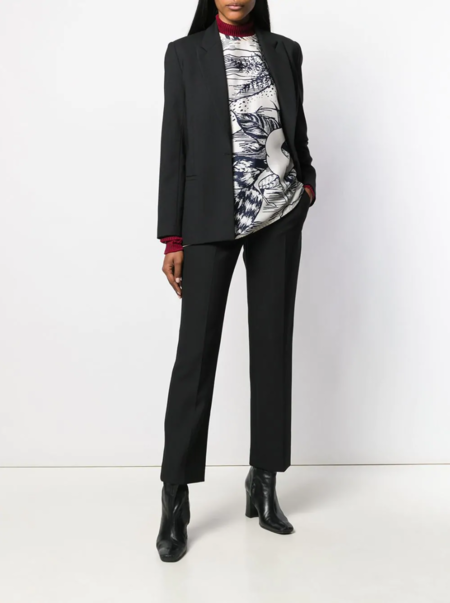 Victoria Beckham Slim Tailored Trousers - Black