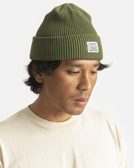 General Admission Recycled Knit Beanie - Green