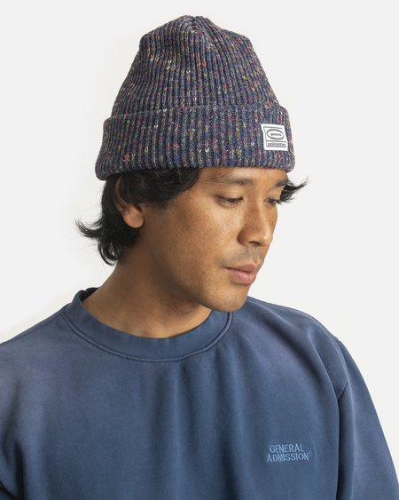 General Admission Recycled Knit Beanie - Melange