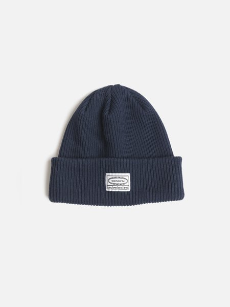 General Admission Recycled Knit Beanie - Navy